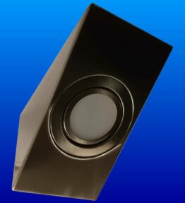 HP Cabinet mat-nikkel 3W 3000K